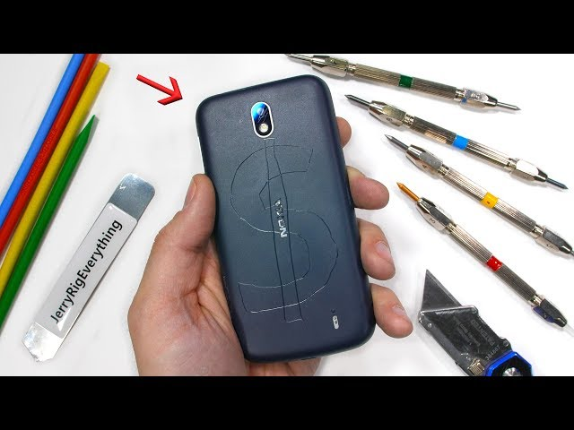 Nokia 1 Durability Test! - Nokia's CHEAPEST Smartphone