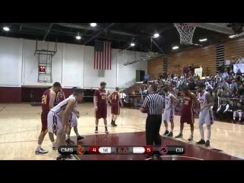 Chapman Men's Basketball vs Claremont - Full Game