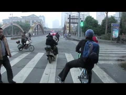 101216   Cycling the Streets of Chengdu