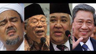Brilian! Jokowi Campakkan Rizieq, Peluk Ma'ruf Amin, Tekuk SBY, Rengkuh Din Syamsuddin
