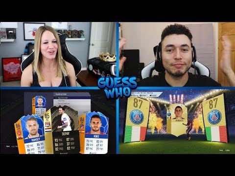 GUESS WHO FIFA vs OAKELFISH!! FIFA 18 | 85 IF DEPAY!