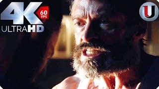Logan vs X 24 First Fight - Logan 2017 MOVIE CLIP (4K HD)