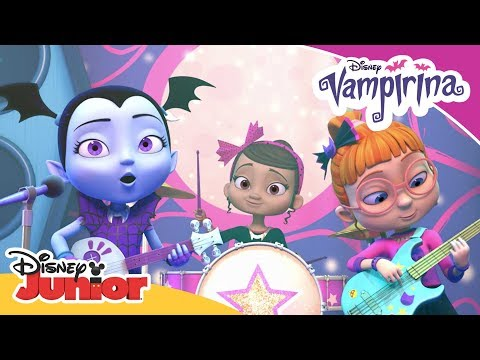 The Ghoul Girls 🎸| Vampirina | Official Disney Channel Africa
