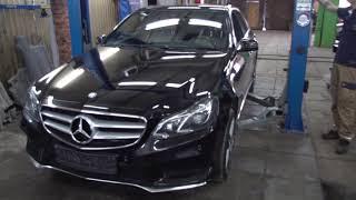 Mercedes-Benz. Замена масла АКПП 722.9хх