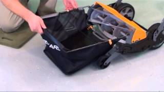 Fiskars 6210 Grass Catcher for 6201 Stay Sharp Mower