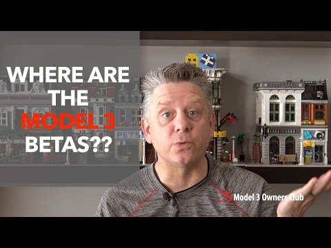 Where are the Model 3 BETAS??? | Model 3 Owners Club