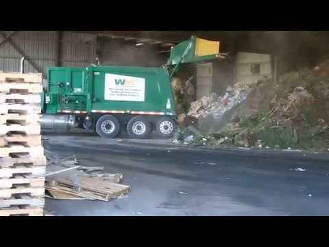 Waste Management Python Unloading