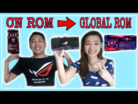 Converting From CN to Global ROM   ASUS ROG Phone 2 Tencent Version Fully Flashed Global ROM Review
