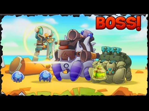 Legendary Warrior Game Defeat Giant Turtle (Mobile Game)