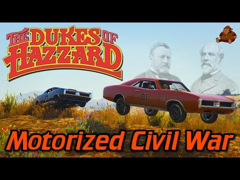 The Dukes of Hazzard Episode #4: Motorized Civil War!!! (GTA 5 Dukes of Hazzard Rockstar Editor)