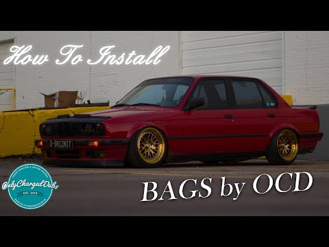 How to Install BAGS by OCD On BC Racing Coils (Single/Slim Double Below)