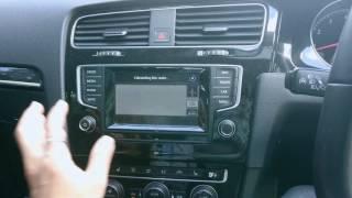 Error from GPS Volkswagen
