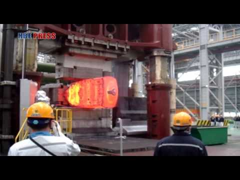 13000Ton open die forging press die alloy steel forging