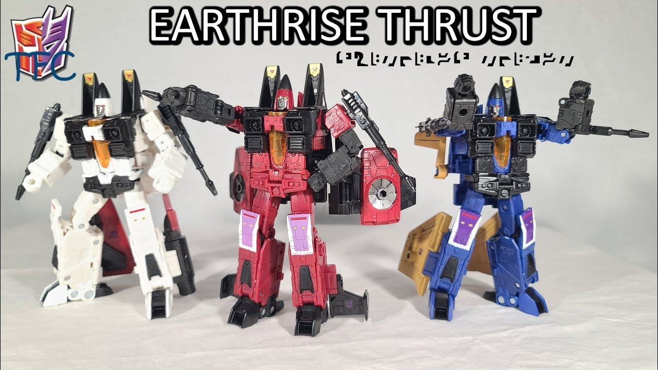 TF Collector Earthrise Thrust and Galactic Map Review!