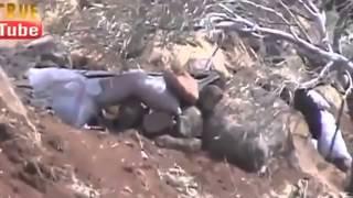 Террорист решил поснимать снайпера, а снайпер снял его