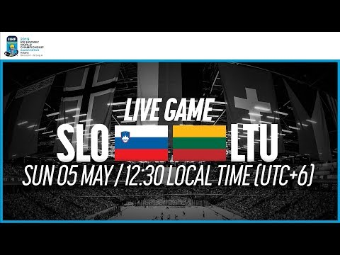 Slovenia Vs. Lithuania | Full Game | 2019 IIHF Ice Hockey World Championship Division I Group A