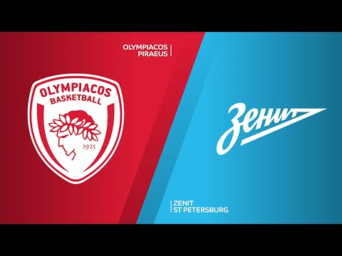 Olympiacos Piraeus - Zenit St Petersburg Highlights | Turkish Airlines EuroLeague, RS Round 29