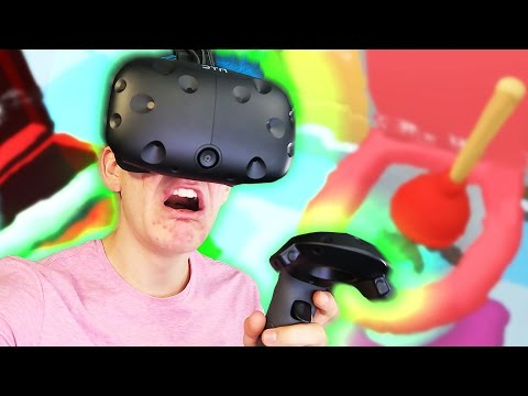GET RID OF THE POOP | Pipe Job (HTC Vive Virtual Reality)