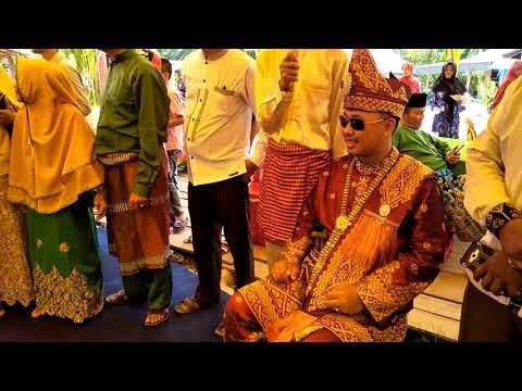 Tradisi Melayu Kubu Rohil dalam acara menyambut Pengantin Laki-laki