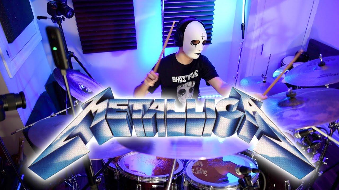 METALLICA - Ride the Lightning - Drum Cover (2020)