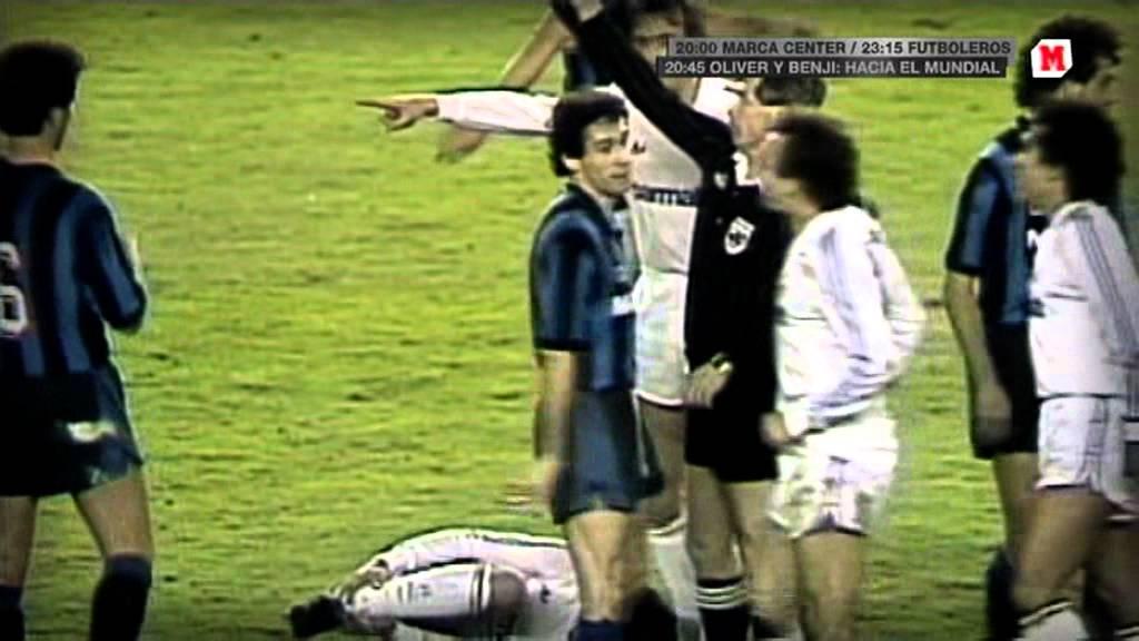 Cebo f tbol leyenda marca tv real madrid inter milan - Roberto herrero ...