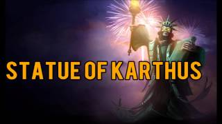 League of Legends - Statue of Karthus Skin