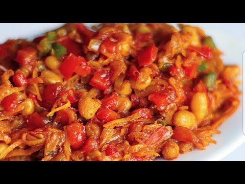 CHAKALAKA RECIPE | SOUTH AFRICAN FOOD | VEGAN MEAL IDEAS