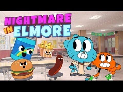 The Amazing World Of Gumball - Nightmare in Elmore [ Full Gameplay ] - Gumball Games