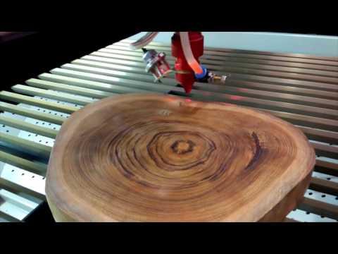 New ideas for interior design: laser engraving art