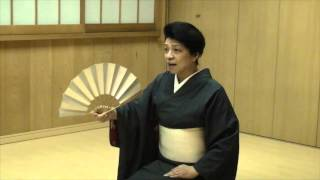Japanese traditional dance Lesson 1