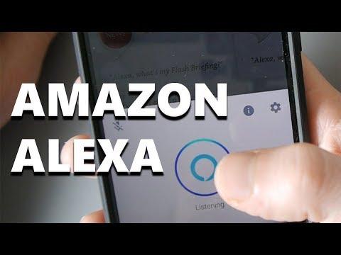 Amazon Alexa On Your Mobile Phone