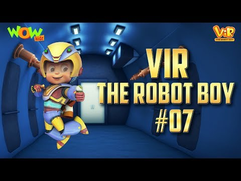 Vir: The Robot Boy #7 - 3D action compilation for kids - As seen on Hungama TV