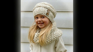 Cтильное вязание для маленьких леди