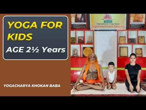 How to Encourage Your Kids to Practice Yoga   Yoga for Kids   Kids Yoga in Hindi