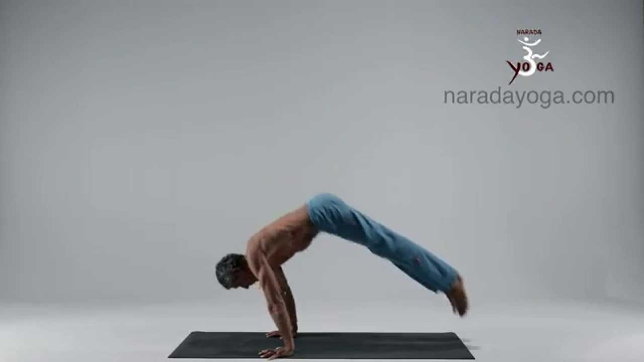 Yoga Bakasana Planche Youtube