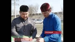 Рамзан Кадыров проинспектировал поселок Войкова Чечня.