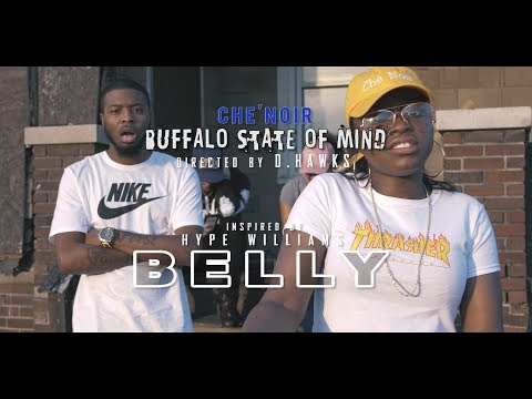 Che'Noir - Buffalo State of Mind (Official Music Video) | Directed by @DHawks2099
