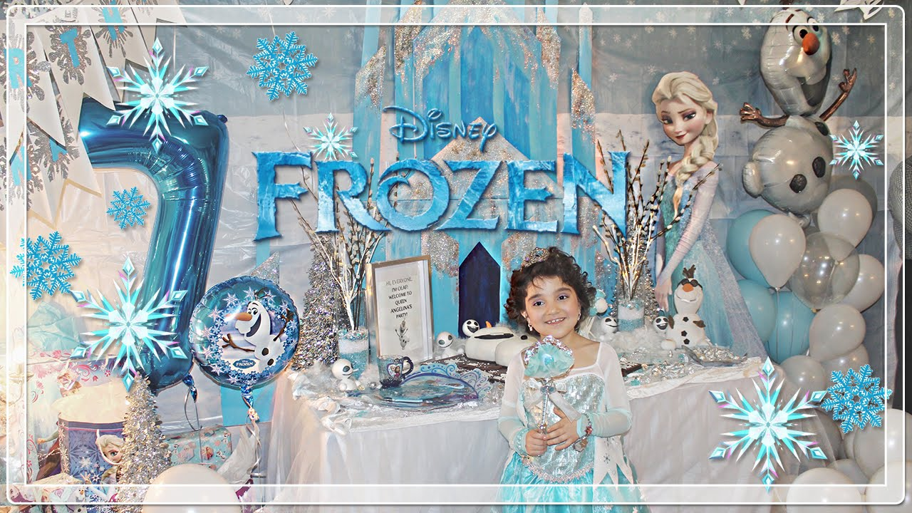 Princess Angelina S Frozen Birthday Party Decorated By