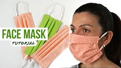 How to make FACE MASK | DIY Sew Mask | Kako napraviti Masku za Lice
