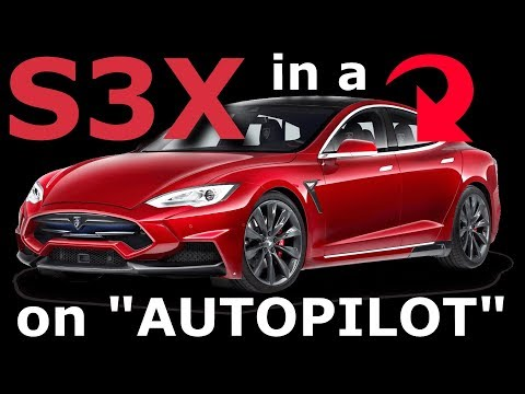 Geek Therapy Radio - S,3,X in a Tesla on Autopilot.