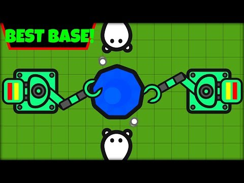 ZOMBS.IO BEST BASE EVER! | WORLD RECORD BASE | WAVE 1000 BASE (zombs.io update)