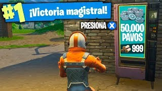 HOW TO WIN 50,000 FREE PAVOS IN FORTNITE (2018)