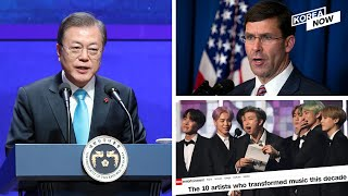 """Moon's plans to foster social justice / BTS as CNN's """"10 artists who transformed music this decade"""""""