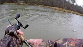 Rainy, Muddy Water Bass Fishing Tips and Techniques