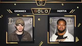 Grimmex vs Inertia   Solo Top 16 Battle   American Beatbox Championships 2018