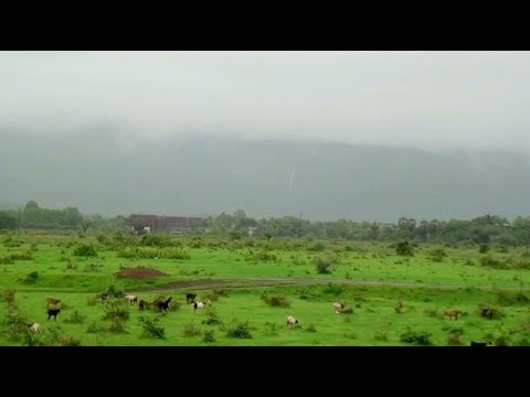 Simply Beautiful & Natural Village Life in Monsoon at Kelve Road, Maharashtra, India