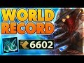 I BREAK THE MOVESPEED RECORD (6602 MOVESPEED & 3223 ATTACK DMG) - BunnyFuFuu