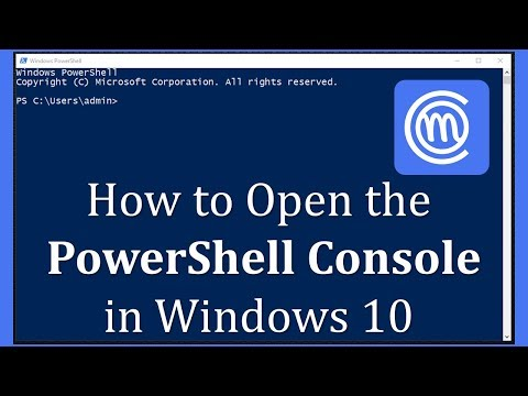 How To Open PowerShell In Windows 10