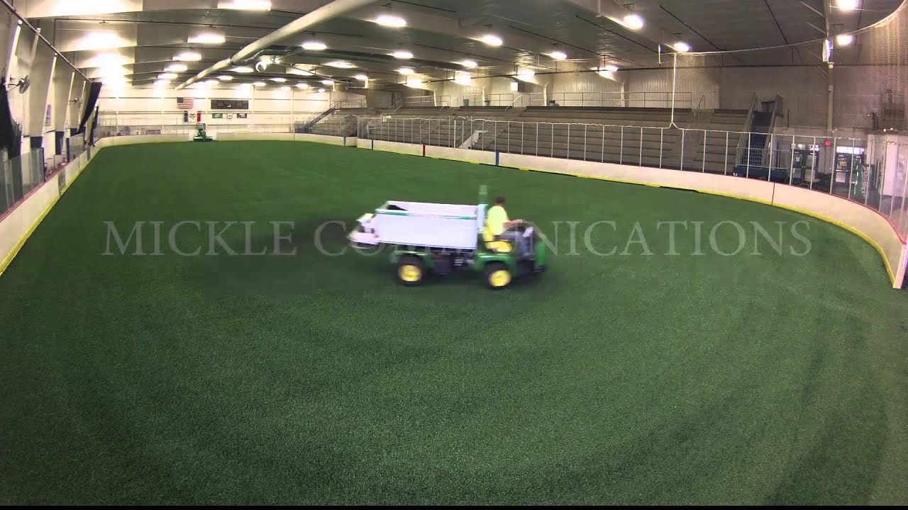 Mansion with indoor soccer field  Indoor Soccer Field Timelapse - YouTube