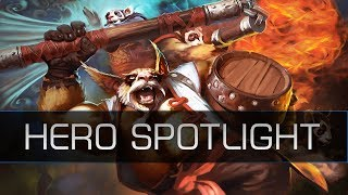 Dota 2 Remastered Hero Spotlight - Brewmaster